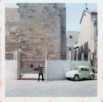 My school friend Rob Keeber when we went on a school trip to Tarragona, Spain in 1967. What a time we had!!