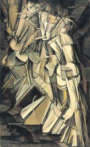 Duchamp Nude Descending a Staircase