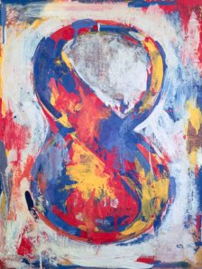 Jasper Johns Figure 8