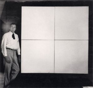White Painting by Robert Rauschenberg