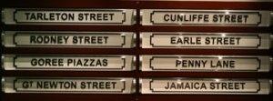Streets named after slave traders