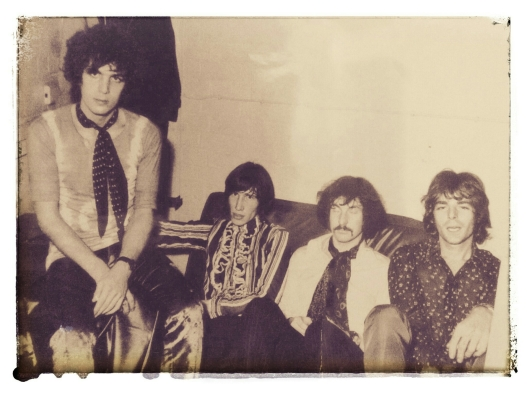 Photo sent to me by Annie Williams of Pink Floyd in the dressing room at 5th Dimension in Leicester September 1967. I meant to go but never quite got there! Saw them at the Queens Hall, Leicester University though.