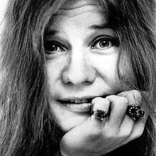 Janis Joplin, undated photo.